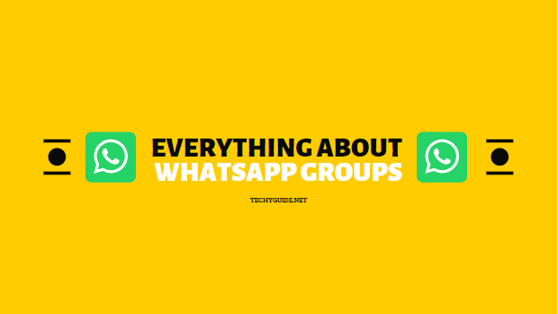 about whatsapp groups