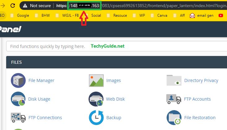 Godaddy VPS hosting IP address