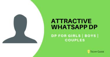 Attractive whatsapp dp