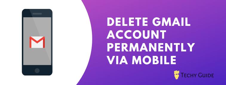 Delete Gmail Account Via Mobile App