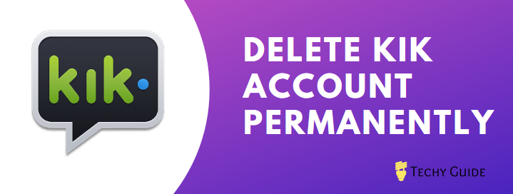Delete Kik account permanently