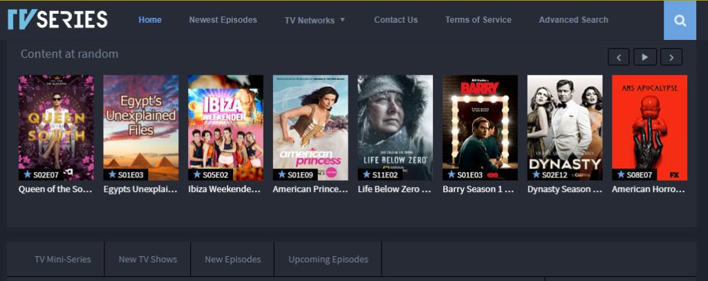 putlocker alternatives WATCH TV SERIES