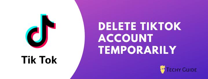 delete Tik Tok account permanently
