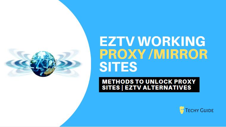 EZTV Proxy sites