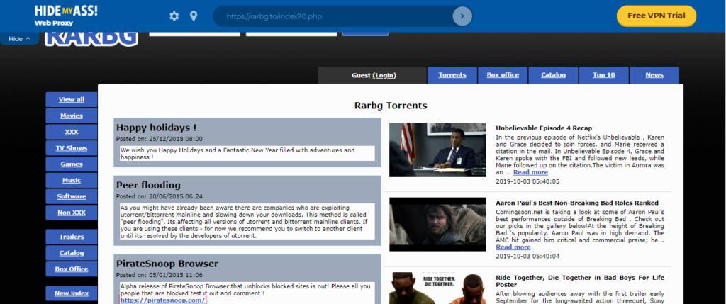 web proxy website