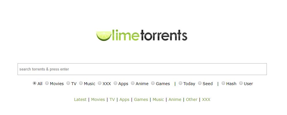 lime torrent proxy