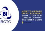 how to create irctc account