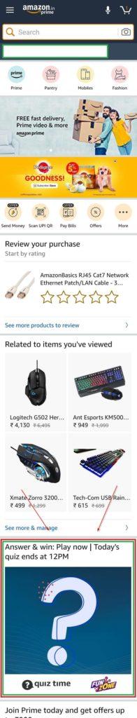 Amazon Fun zone