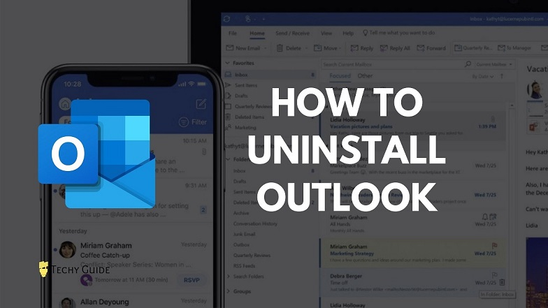 Uninstall Outlook program.