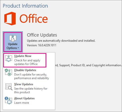 microsoft office update for [pii_pn_7cb487117f21abdb] fix