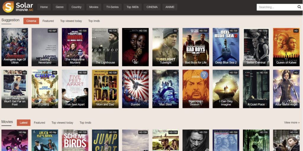 solar movies proxy site